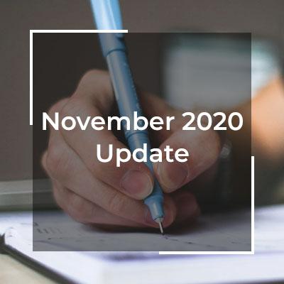 November blog update developer WordPress hosting